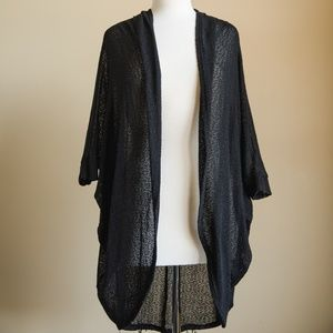Urban Outfitters | Painted Threads Black Sheer Car